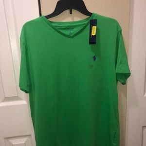 Polo v neck t shirt